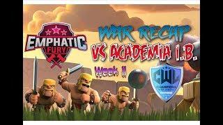 Emphatic Fury vs Academia I.B. CWL Premiere S6 W11 War Recap