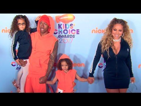 Mariah Carey & Demi Lovato at the Nickelodeon Kids