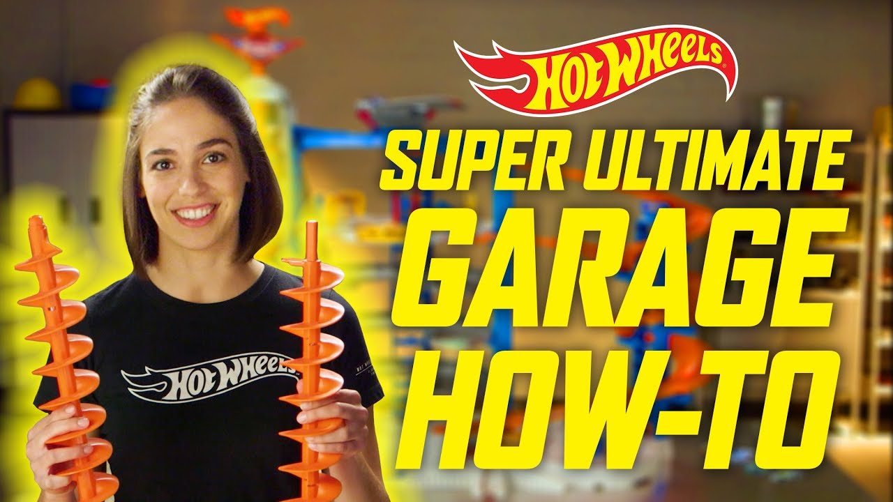 The Super Ultimate Garage How To Build Epic Sets Hot Wheels