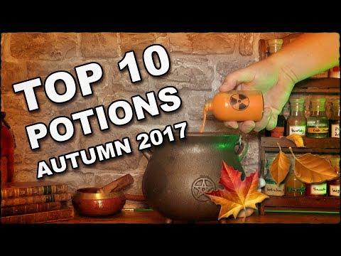 Higgypop Potions Top 10 Recipes Autumn 2017