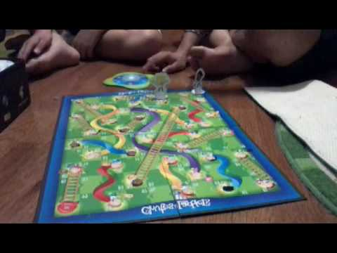 Chris v.s Jake: Chutes and Ladders part 1