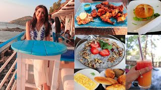 Top 5 Places To Eat In Goa | Best Sunset View | Goa Food Tour |