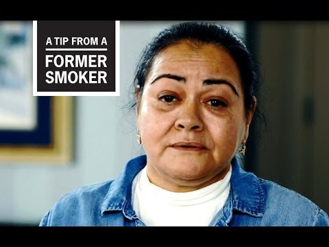 CDC: Tips From Former Smokers - Felicita's Story