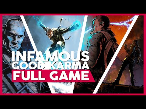 Infamous 1 (Good Karma)   Full Playthrough/Walkthrough - PS3   No Commentary