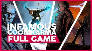 Infamous 1 (Good Karma) | PS3 | Full Gameplay/Playthrough | No Commentary