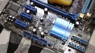 Desktop board repair #no display #Asus PBH61-M LX