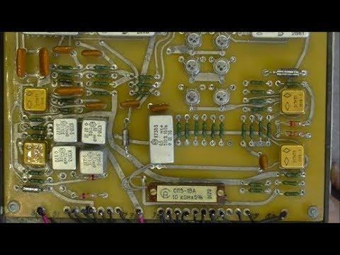 Soviet touch buttons control panel teardown