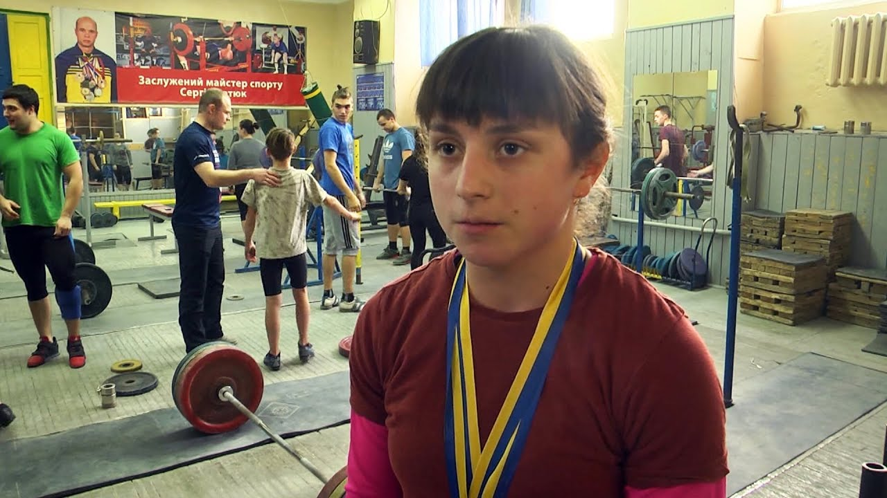 Коломиянка стала чемпіонкою України з важкої атлетики (відеосюжет)