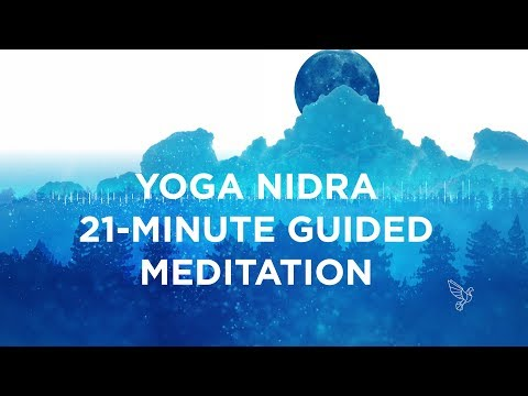 Yoga Nidra Meditation Video: 21-Minutes To Dynamic Sleep