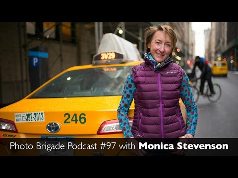 Monica Stevenson - High-End Commercial Stills and Video - Photo Brigade Podcast #97