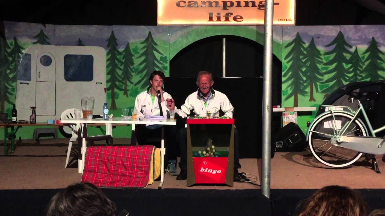 Feestweek Kraggenburg 2016 Camping Bingo