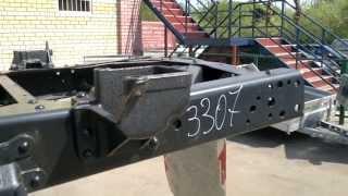 Рама ГАЗ 3307 в сборе