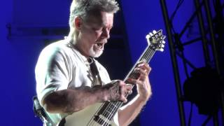 Eddie Van Halen Guitar Solo at Hollywood Bowl 10/2/2015