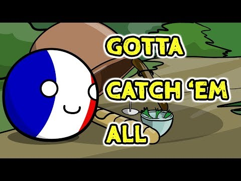 A trap for France - Countryballs