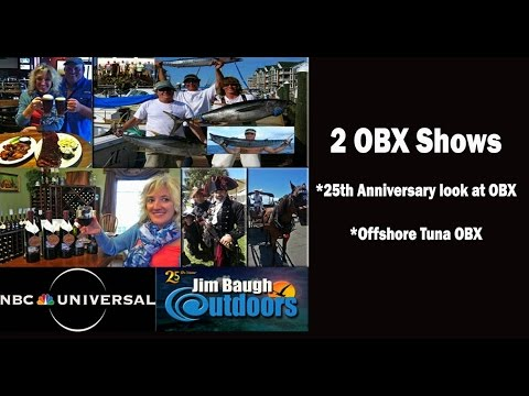 Outer Banks NC Jim Baugh Outdoors 25th Anniversary and Offshore OBX Tuna Fishing Suzuki