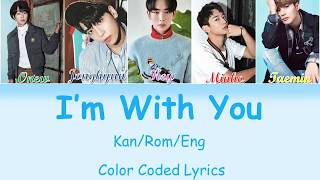 Shinee - 'i'm With You' Lyrics  Color Coded Kan|rom|eng