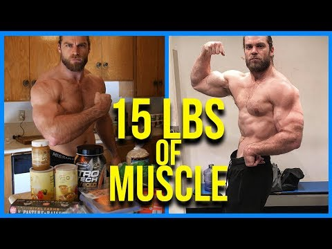 I Put on 15 Pounds of Muscle, Here's How | Full Workout & Meal Daily Routine
