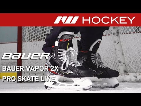 Bauer Vapor 2X Pro Skate Line // On-Ice Insight