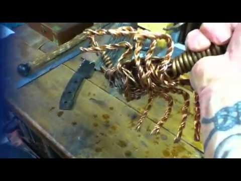 Copper wire scorpion artwork - YouTube