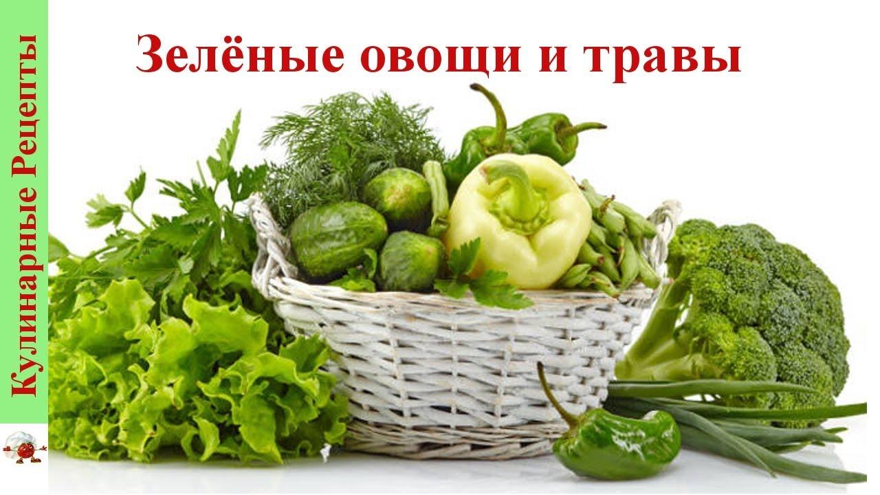 чем полезны зеленые овощи