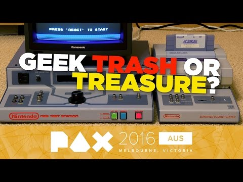 Geek Trash or Treasure? Finding Collectibles with Real Value - PAX Aus 2016