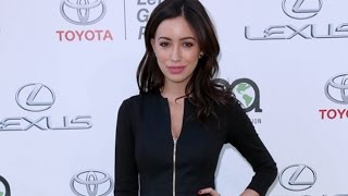 The Walking Dead Star Christian Serratos Pregnant With First Child With Singer David Boyd