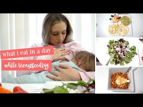 LOSING WEIGHT WHILE BREASTFEEDING | HEALTHY WHAT I EAT IN A DAY TO LOSE WEIGHT