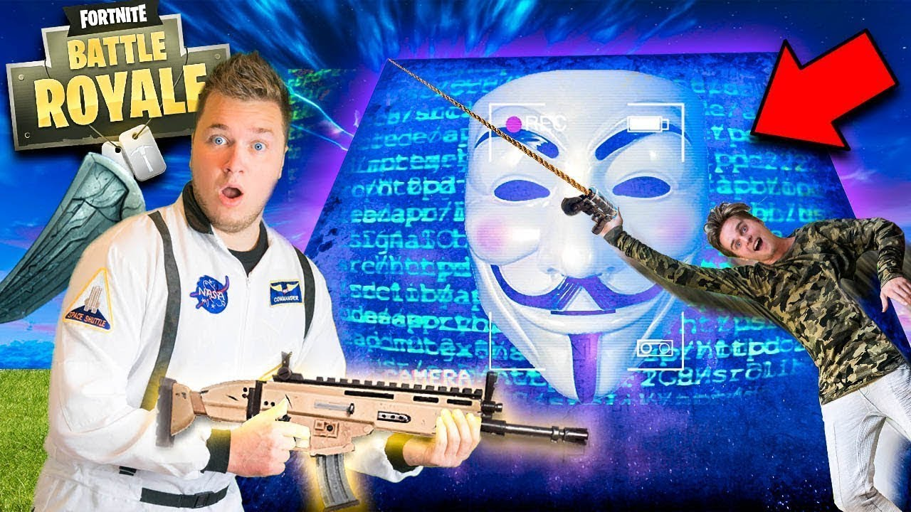 Game Master Hacked Fortnite Season 6 😱real Life Fortnite