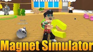 NEW LUXURY SIMULATOR?! 😱😍   ROBLOX: Magnet Simulator #1