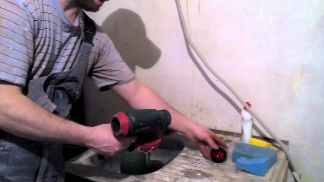 Bosch PFS 5000E краскораспылитель электрический промо ролик - YouTube
