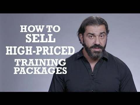 How To Sell High Priced Personal Training Packages