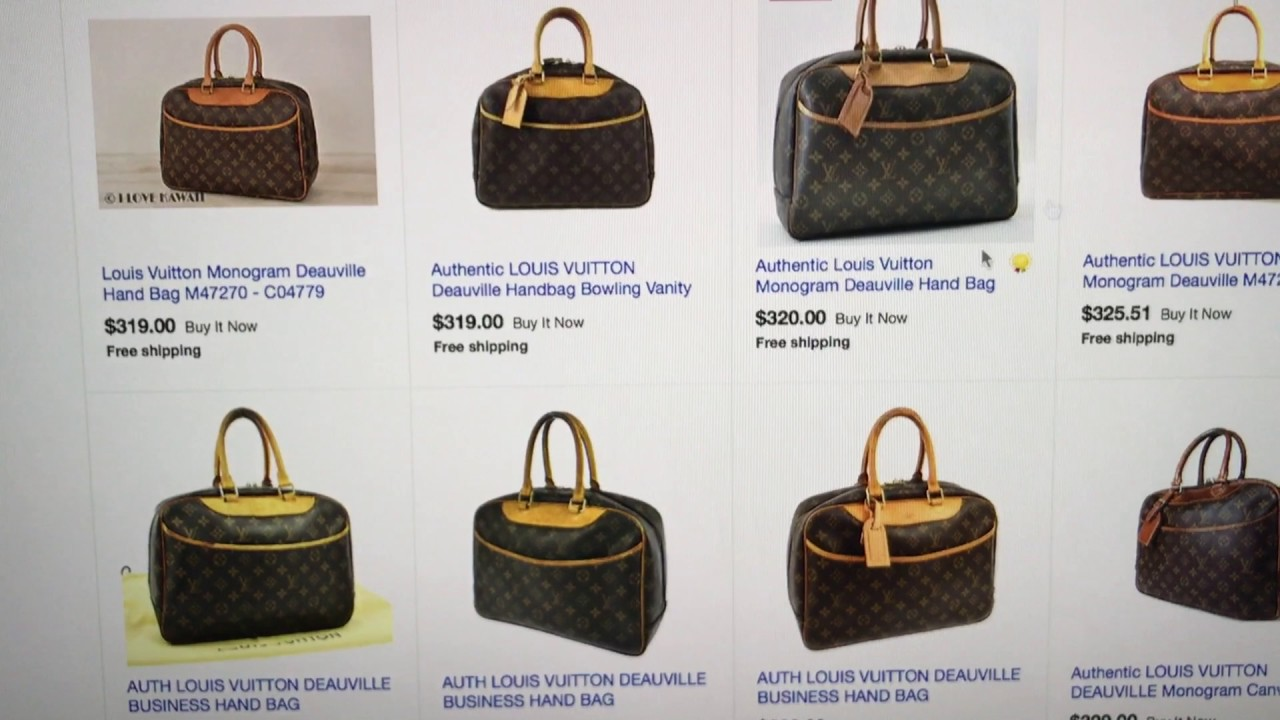 25e6139f98e9 2017 eBay Preloved Louis Vuitton Wish List - YouTube