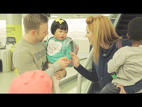 ROSIE'S EMOTIONAL AIRPORT HOMECOMING!!! | China Adoption Story