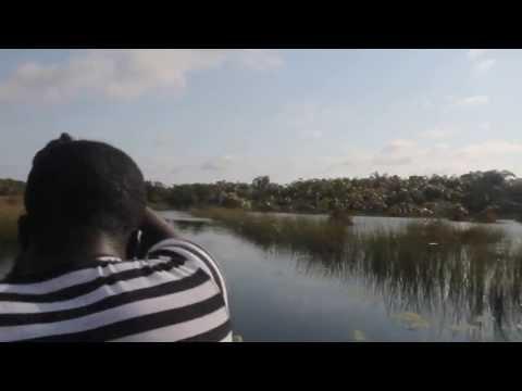 Canoeing Nzulezo - Beyin, Ghana