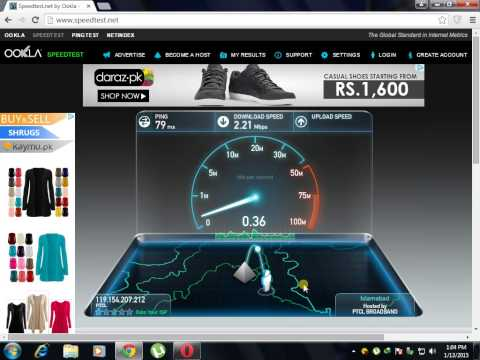 Worldcall usb speedtest