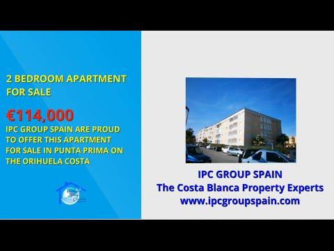 For Sale - 2 Bedroom Apartment, Punta Prima