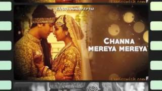 Channa mereya instrumental song with lyrics