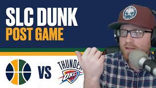 Utah Jazz vs Oklahoma City Thunder Post Game Reaction - Russell Westbrook kills the Jazz