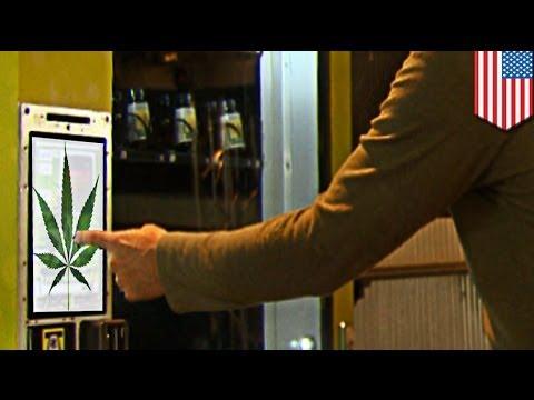 Máquina expendedora de marihuana en Colorado, Estados Unidos