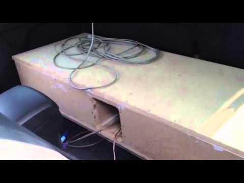 เทสเสียงตู้ซับ All New Dmax 4 ประตู