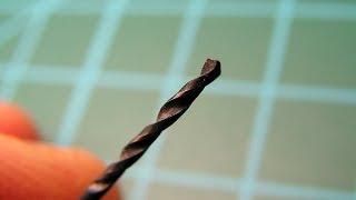 Заточка мелких сверл в домашних условиях