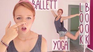 Dinge, die man in einer leeren Wohnung tun kann - Lookbook, Yoga, Ballett