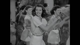 Rita Hayworth & Fred Astaire dance to Led Zeppelin