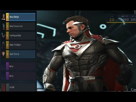 Injustice 2 Epic Gear Lvl 20 Superman Full Loadout 1
