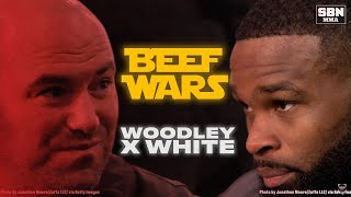 Tyron Woodley vs Dana White: Beef Wars