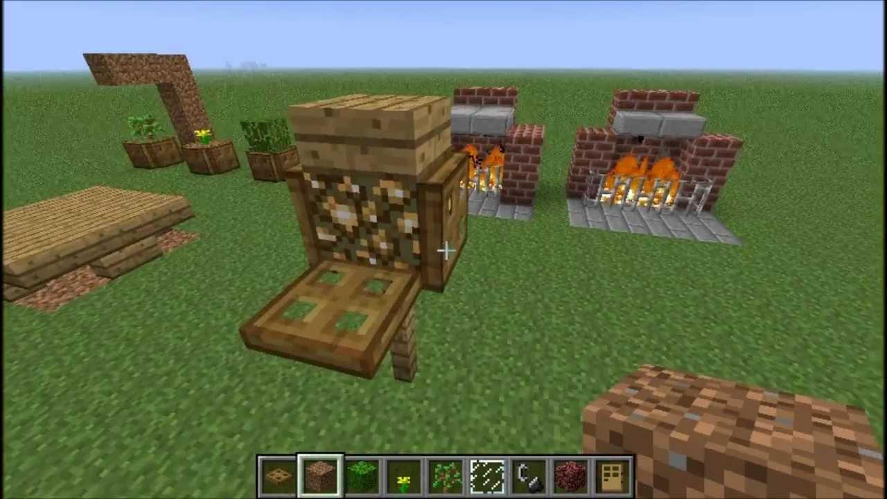 Minecraft Wohnzimmer Komplett