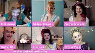 SATIN DOLLZ  LIVE STREAM: Pin Up Disney
