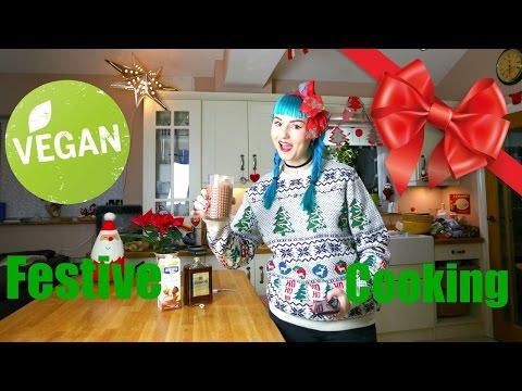 Vegan Christmas cooking: Mushroom Wellington!
