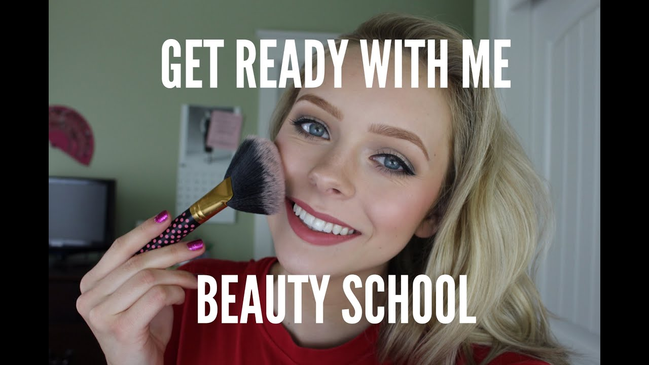 Get Ready With Me: Beauty School | Cosmobyhaley