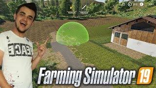 """Farming Simulator 19 """"Moja Amerykańska Gospodarka""""#7㋡ Przekształcanie terenu jako nowość ✔ MST"""